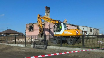Burmistrz Murowanej Gośliny: spółka Gaz-System wykupi działki, na których spłonęły domy