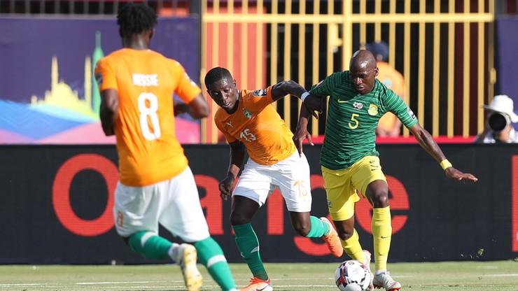 Puchar Narodów Afryki: Skromne zwyciestwo Wybrzeża Kości Słoniowej z RPA