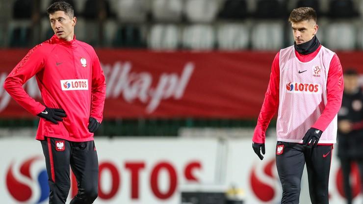 Robert Lewandowski i Krzysztof Piątek nie wystąpią w meczu z Anglią?