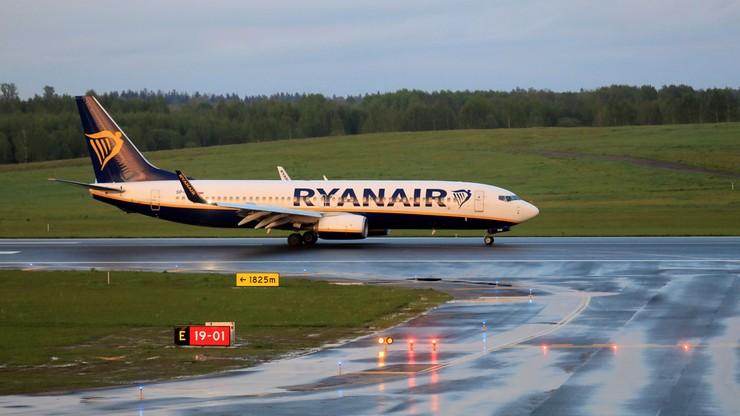 Białoruś. Władze opublikowały nagranie rozmów pilota Ryanair z kontrolerami w Mińsku