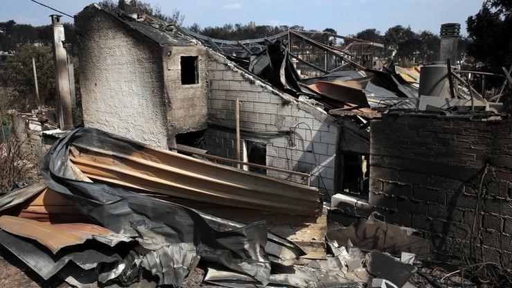 Krewni ofiar pożarów pozywają greckie władze. Oskarżają je o nieumyślne spowodowanie śmierci