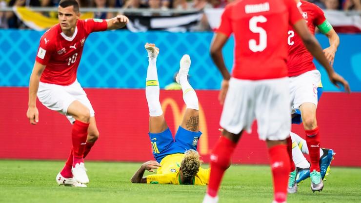 MŚ 2018: Fatalny Neymar w meczu ze Szwajcarią