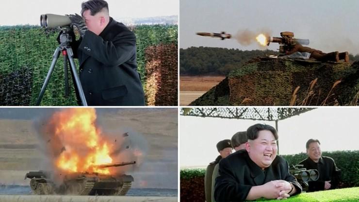 Nowa zabawka koreańskiego dyktatora - sterowany laserem pocisk przeciwpancerny