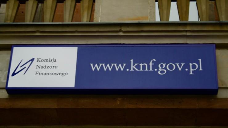 """KNF tłumaczy się z rejestru wydatków. """"Wnioski krytyków błędne"""", """"tendencyjne"""", """"godzą w dobre imię"""""""