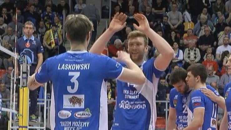 1. Liga siatkarzy: MKS Ślepsk Suwałki - Stal Nysa. Transmisja w Polsacie Sport News