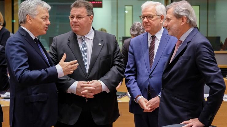 Sankcje unijne w związku z wyborami w Donbasie, brak restrykcji za atak na okręty