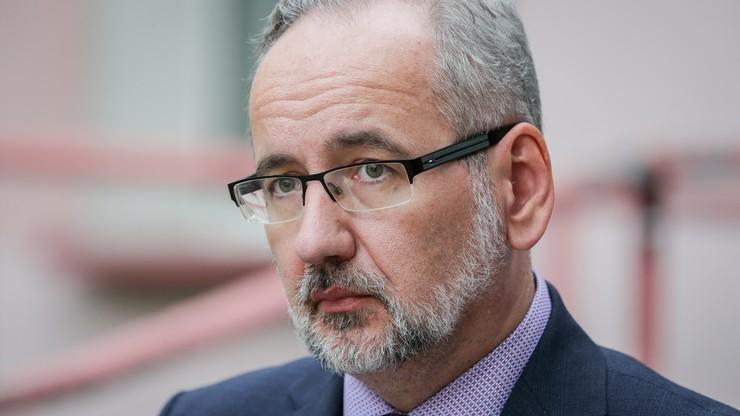 Minister zdrowia Adam Niedzielski: za zatajenie informacji epidemicznych kara do 30 tys. zł