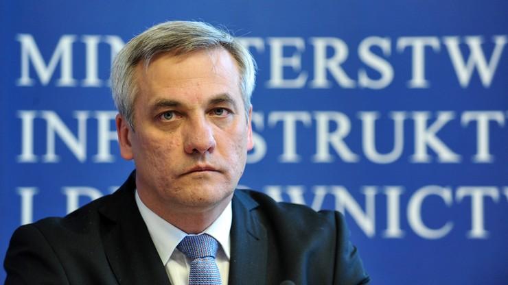 Wiceminister infrastruktury i budownictwa Jerzy Szmit podał się do dymisji