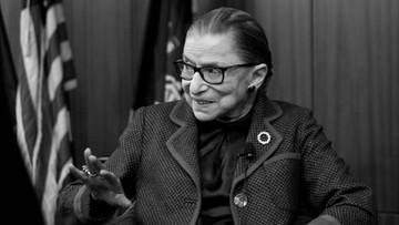 Zmarła sędzia Ruth Bader Ginsburg - ikona amerykańskiego sądownictwa
