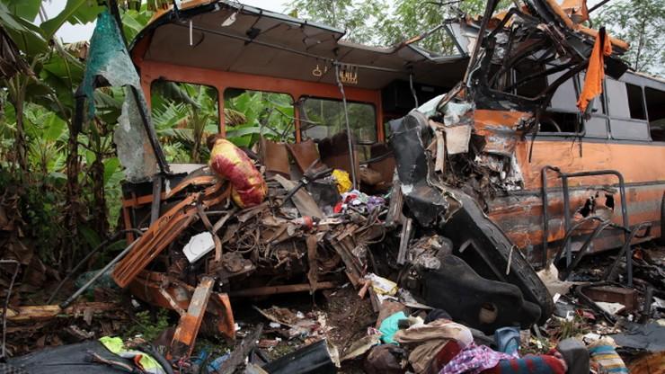 60 osób zginęło w zderzeniu autobusów. Tragiczny wypadek w Ghanie