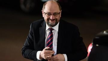 """Schulz ma być szefem MSZ Niemiec lub ministrem finansów. """"Merkel pozostanie kanclerzem"""""""