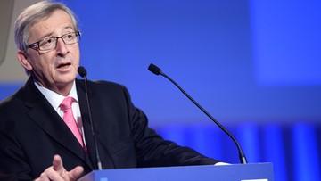Juncker: cofnięcie sankcji zależne od realizacji umów mińskich