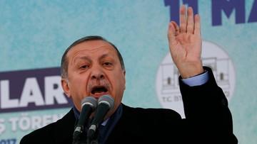 Kolejna odsłona dyplomatycznej wojny. Erdogan nawołuje do sankcji wobec Holandii