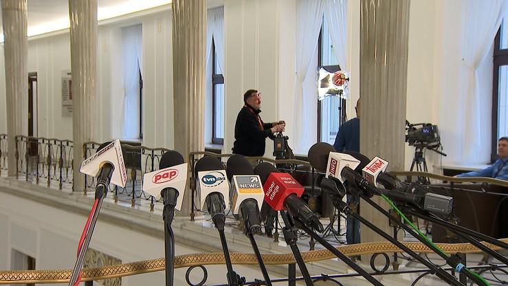 """PO chce uchwały ws. """"wolności mediów i jawności pracy Sejmu"""""""