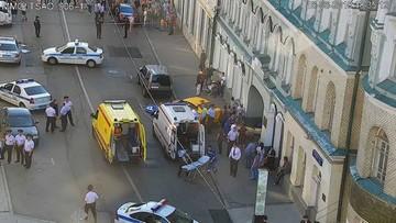 """Taksówkarz, który wjechał w ludzi w Moskwie, przyznał się do winy. """"Nie spałem, a musiałem zarabiać"""""""