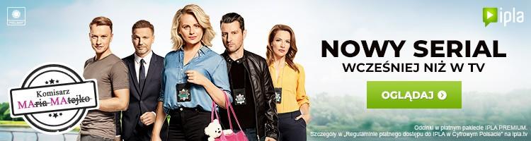 Nowy serial Komisarz Mama wcześniej niż w TV.