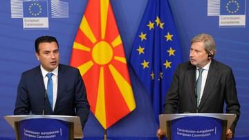 Premier Macedonii Płn. apeluje do UE, by nie odwracała się od jego kraju