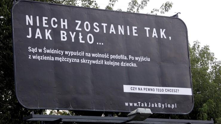 Wiemy, gdzie może trafić pedofil znany z rządowej kampanii billboardowej