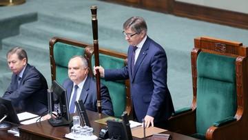 """""""Marszałek Sejmu z szacunkiem podchodzi do inicjatywy referendalnej"""" - powiedział Grzegrzółka"""
