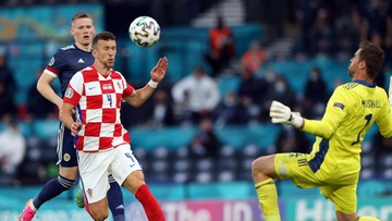 Euro 2020: Chorwacja – Szkocja 3:1. Gol Ivana Perisicia
