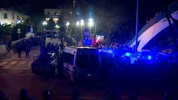 Policja: 38 wniosków do sądu o ukaranie po wtorkowych protestach przed Senatem