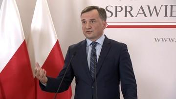 Ziobro o działaniach I Prezes SN: sprzeczne z polskim prawem