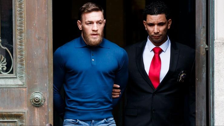 McGregor aresztowany za próbę napaści na tle seksualnym