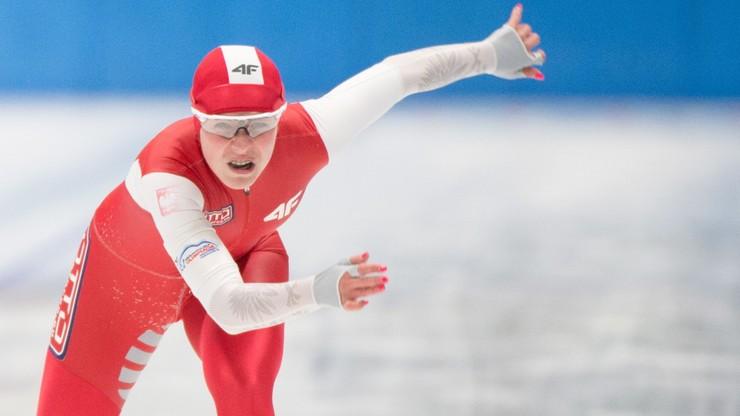PŚ w łyżwiarstwie szybkim: Rekord Polski Ziomek na 500 m