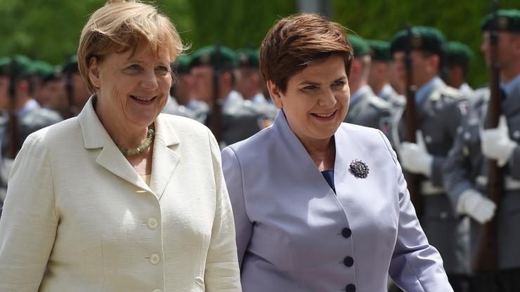 Premier Szydło z delegacją rządową przybyła do Berlina