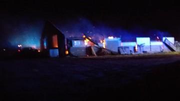 Płoną chlewnie w okolicach Hajnówki. W ogniu zginęło 300 prosiąt