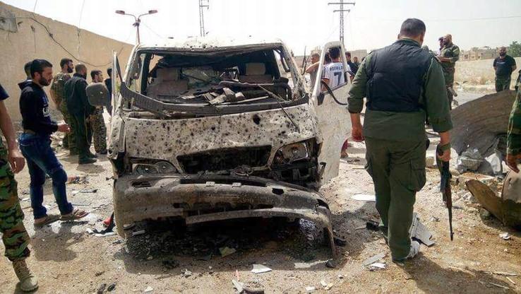 Syria: zabici i ranni w zamachu w Damaszku. Rozejm wisi na włosku
