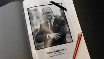 Pogrzeb Pawła Adamowicza w sobotę o 12. Prezydent zostanie pochowany w Bazylice Mariackiej