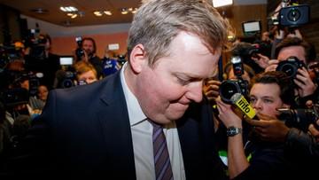 """Dymisja premiera Islandii. Gunnlaugssona pogrążyły """"panama papers"""""""
