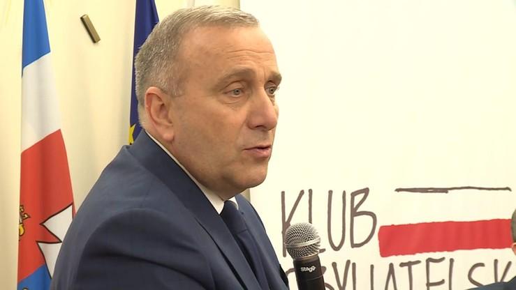 Schetyna: w wyborach na prezydenta Gdańska nie poprzemy Adamowicza