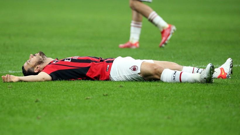 Serie A: Miesiąc przerwy obrońcy AC Milan