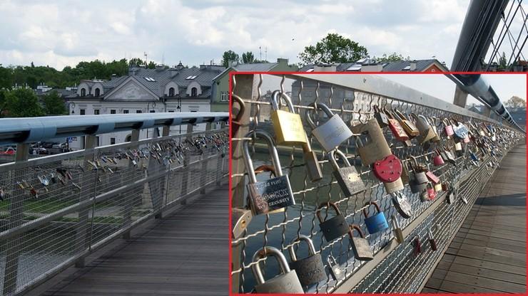 Przez rozgoryczonych eks-kochanków kłódki miłości znikną z krakowskiej kładki