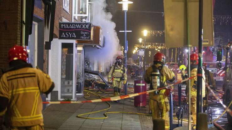 Wybuchy w Holandii. Uszkodzone sklepy z polskimi produktami