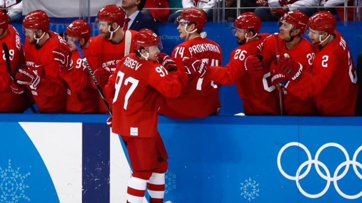 Pjongczang 2018: Olimpijczycy z Rosji w półfinale