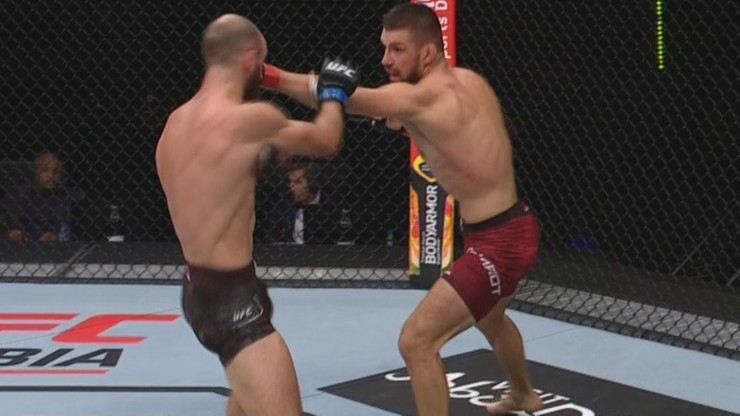 UFC z udziałem Mateusza Gamrota. Wyniki i skróty walk (WIDEO)