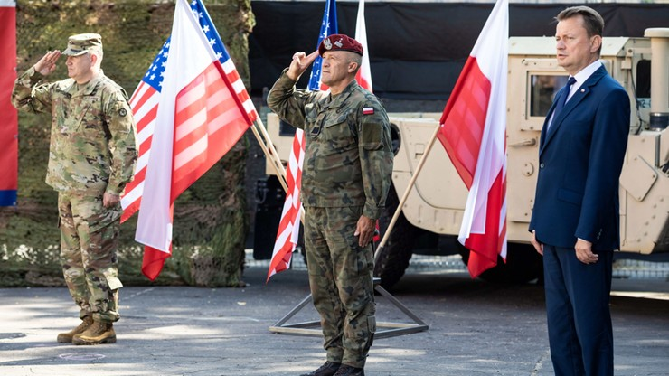 Polski dowódca w Fort Knox. Mariusz Błaszczak: kolejny krok do zacieśniania sojuszu