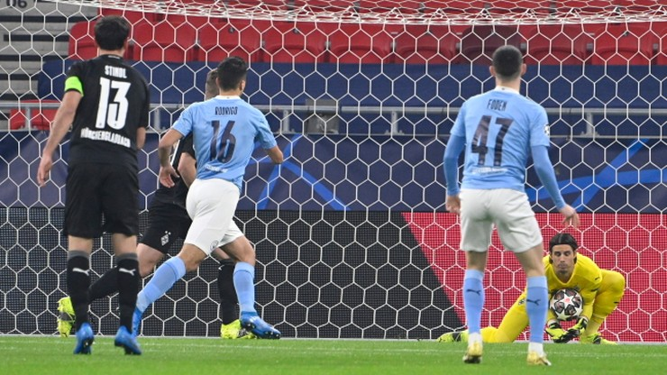 Liga Mistrzów: Borussia Moenchengladbach - Manchester City. Skrót meczu (WIDEO)