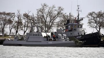 Rosyjski sąd nakazał aresztowanie 12 ukraińskich marynarzy
