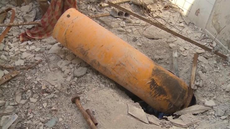 Raport OPCW: w syryjskiej Dumie użyto chloru przeciwko ludności cywilnej