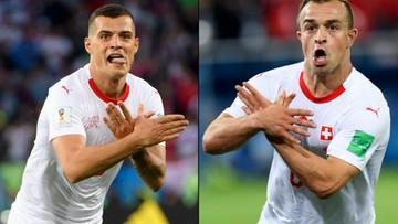 Piłkarze Szwajcarii mogą zostać ukarani. Za kontrowersyjne gesty w meczu z Serbią
