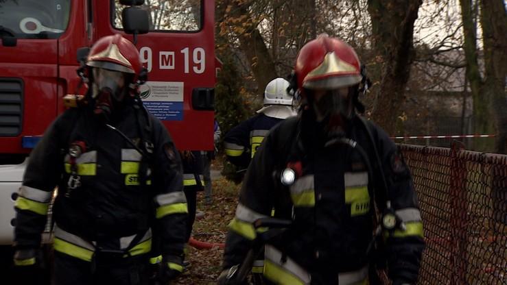 Pożar w Tomaszowie Mazowieckim. Nie żyją dwie starsze osoby