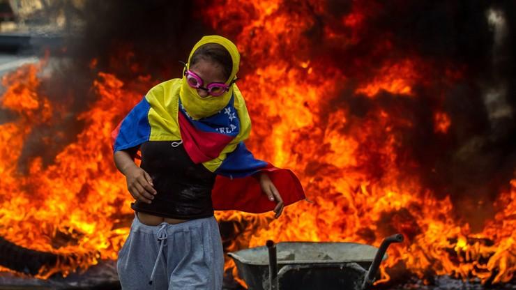 Wenezuela: brutalne starcia z policją. Trzy osoby nie żyją