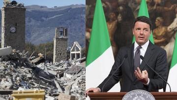 Premier Włoch po trzęsieniu ziemi: odbudujemy wszystko