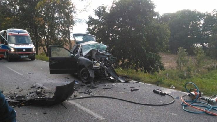 Trzy osoby zginęły w wypadku na drodze Mrągowo-Kętrzyn