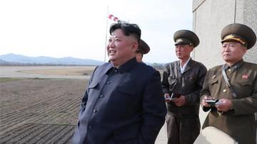 Korea Północna wypróbowała nowy typ broni taktycznej. Test obserwował Kim Dzong Un