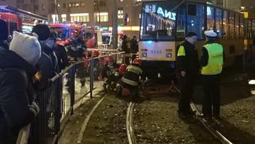 Śmiertelny wypadek w Warszawie. Kobieta potrącona przez tramwaj